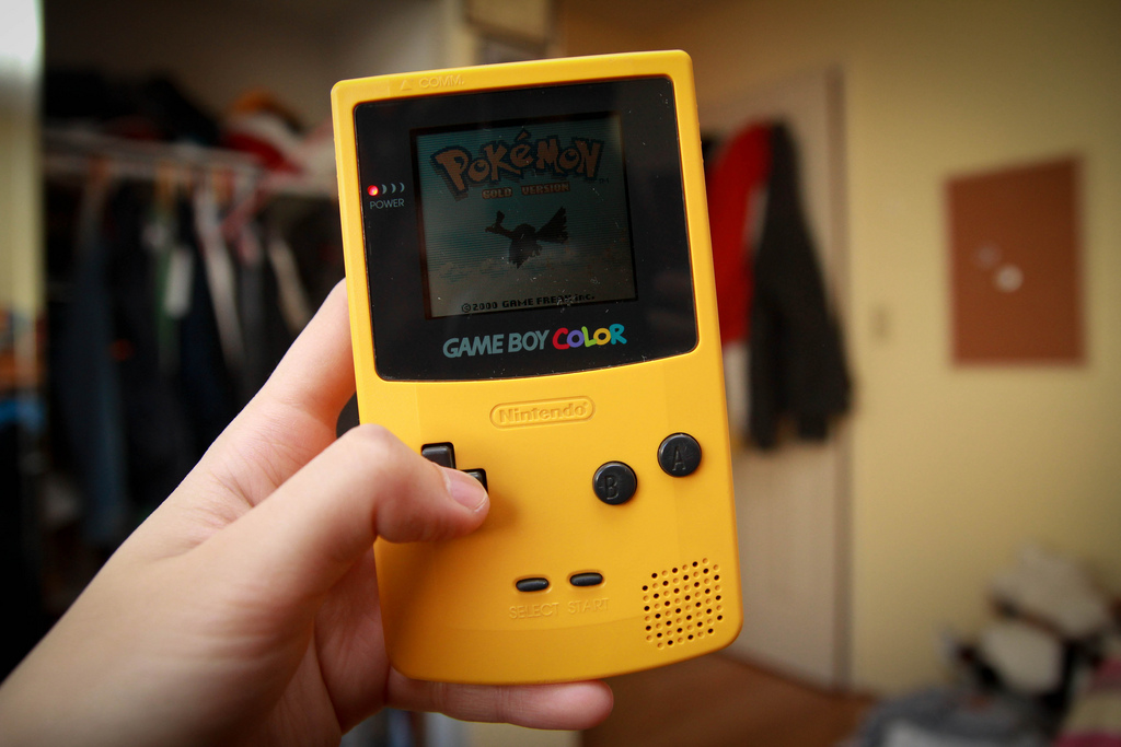 gameboy colour the 1990s