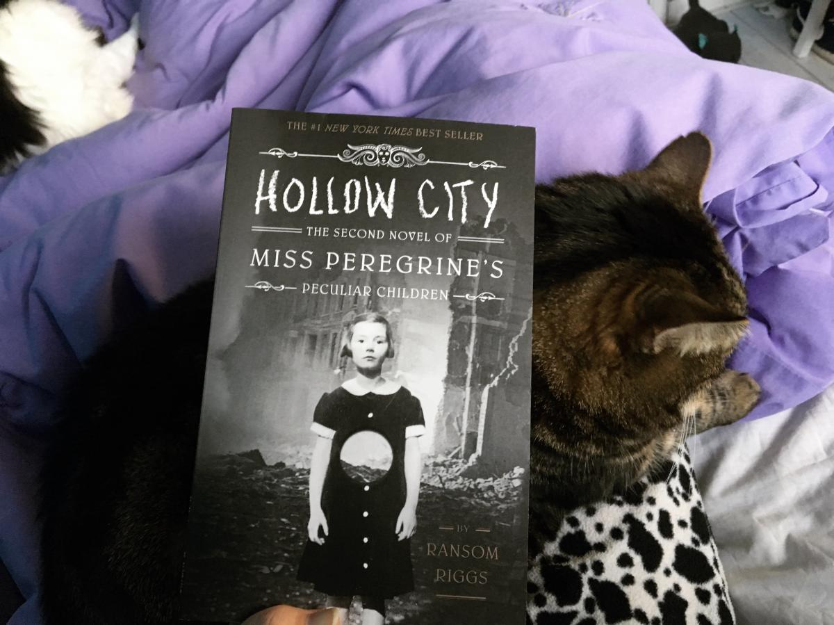 Miss Peregrine's home for peculiar children book series ransom riggs