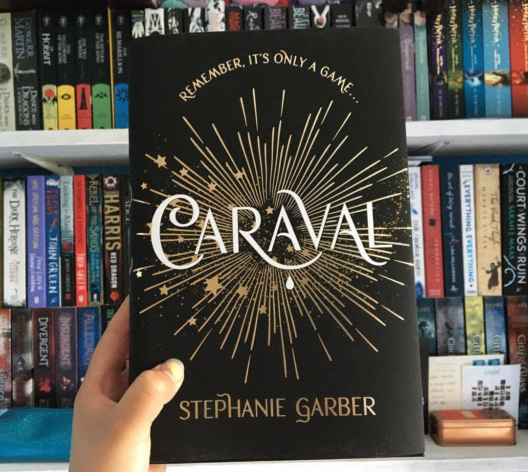 Caraval book series by Stephanie Garber