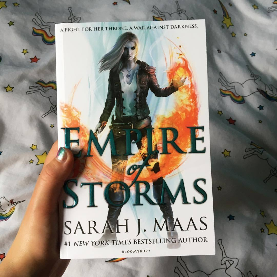 empire of storms throne of glass book series sarah j maas