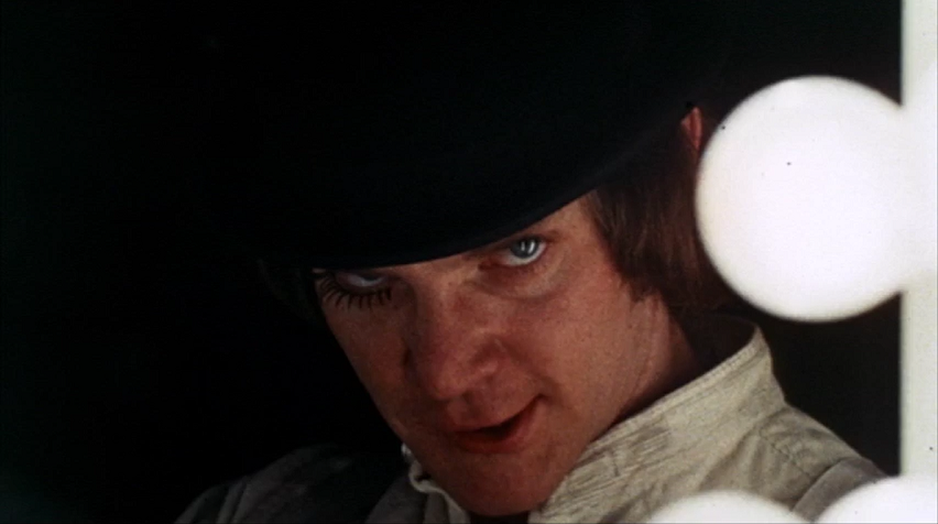 a clockwork orange book by Anthony burgess