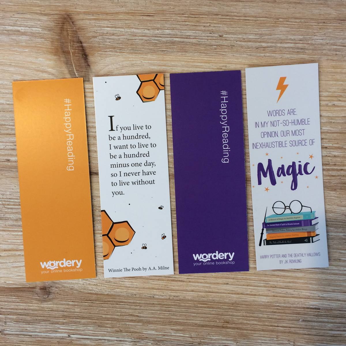 wordery bookmarks