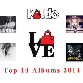 Kettlemag, Music, Kealie Mardell, Top Albums 2014
