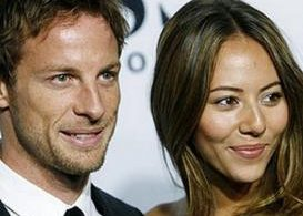 Jensen Button, Jessica Michibata, Formula 1, Holly Wade, Kettle Mag