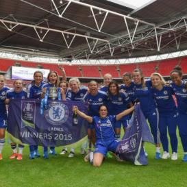 Chelsea Ladies, FA Cup, Women's football, football, Wembley, Kettlemag, Jessica Wells