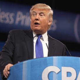 Donald Trumps speaks at CPAC
