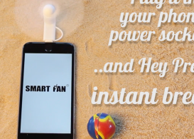 Smartfan, the coolest gadget of 2016, kettle mag,
