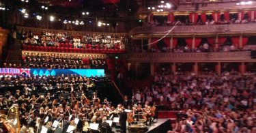 Image of packed Albert Hall interior