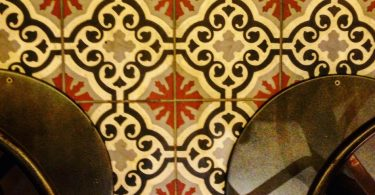 Tiles at Bar Iberico