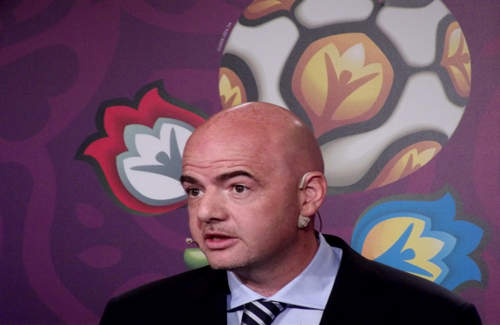 Gianni Infantino, FIFA, World Cup, football, Tom Earnshaw, Kettle Mag