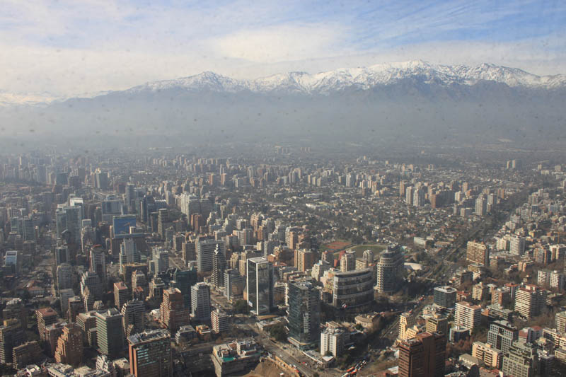 View of Santiago, Chile