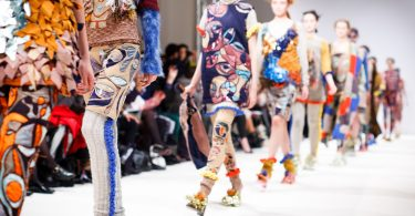London Fashion Week, runway