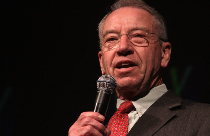 Chuck Grassley, politics, world, United States, Ryan Fajet, Kettle Mag