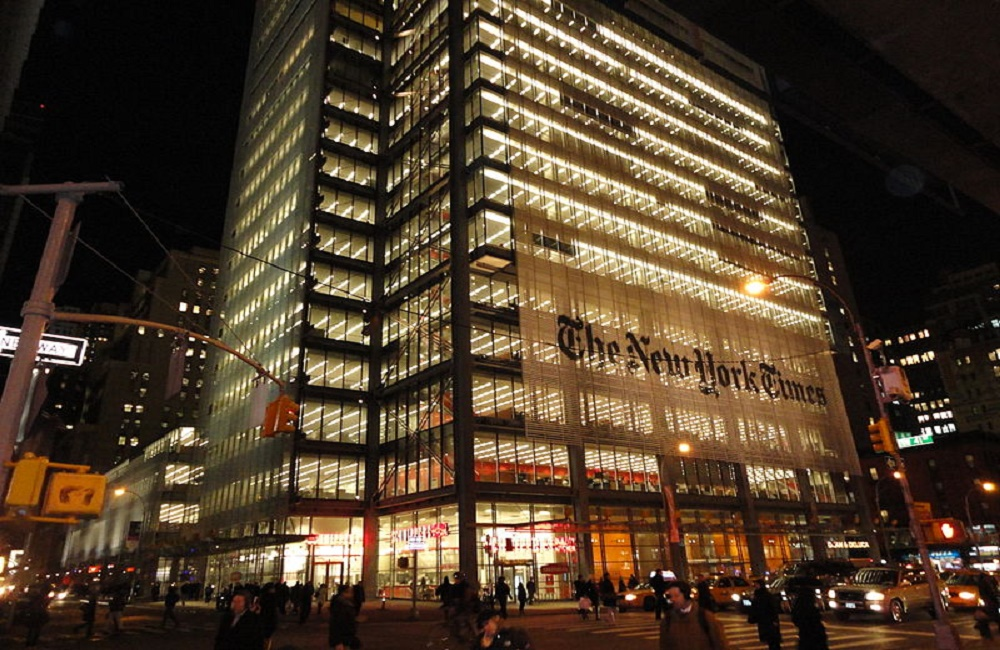 The New York Times, media, journalism, truth, Victoria Blake, Kettle Mag