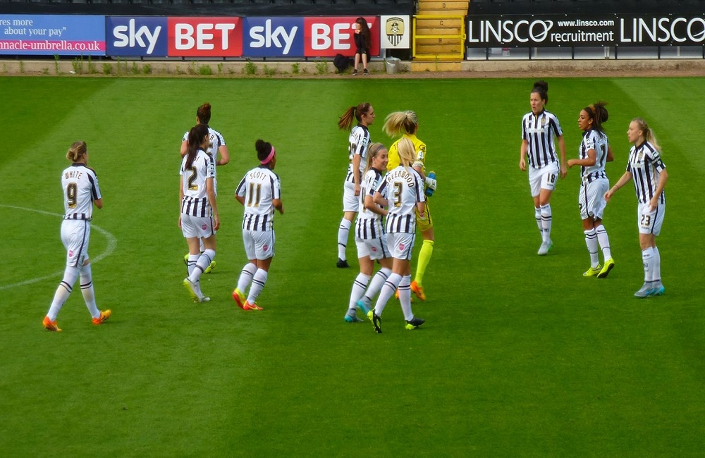 Notts County football, women, sport, Kirsty McFarlane, Kettle Mag