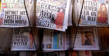 Tabloid newspapers, media, journalism, Cameron Ridgway, Kettle Mag