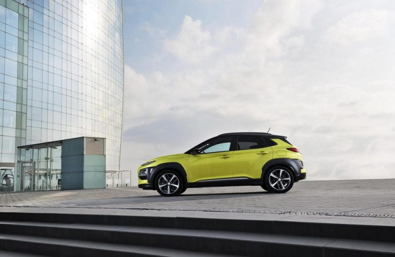 Hyundai Kona, motoring, car, Michael Docherty, Kettle Mag