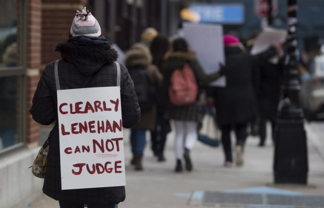 Protests against Judge Lenehan in Canada