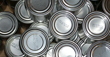 tinned food, kettle mag