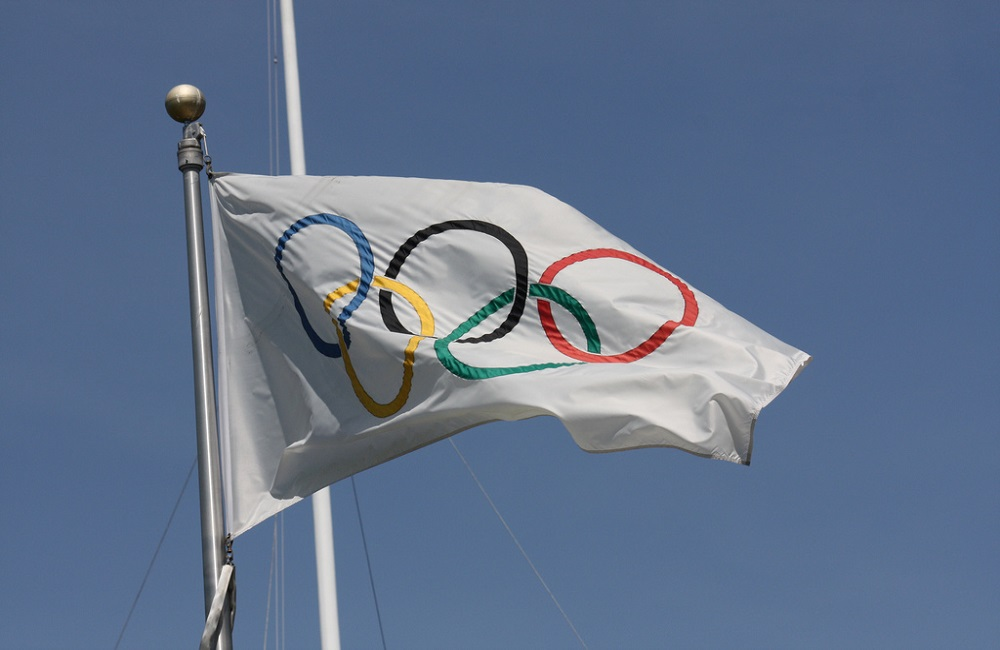 Olympic, flag, South Korea, journalism, Alex Veeneman, Kettle Mag
