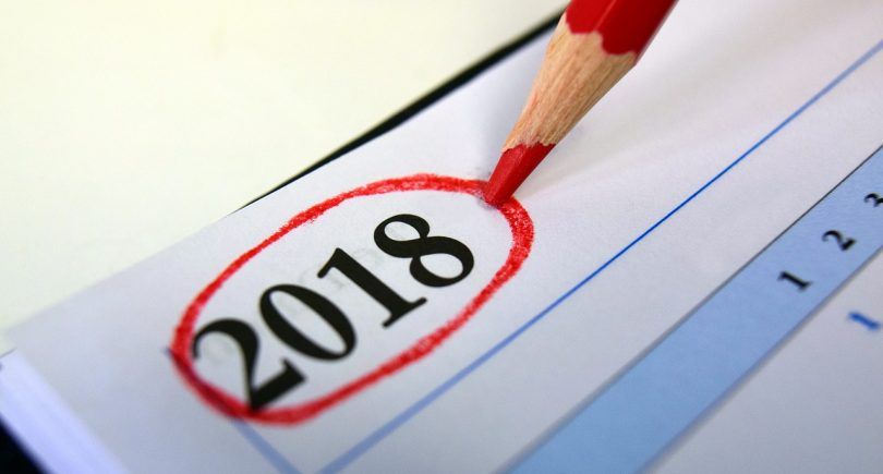 10 things 2018 can keep